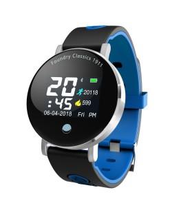 Фитнес браслет Smart Band Q8 голубой (q8-blue)