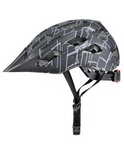 Шлем велосипедный ProX Storm черный с серым (A-KO-0151)