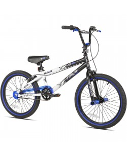 "Велосипед BMX 20"" Kent Ambush Boys' Bike черный / белый (ad-08)"