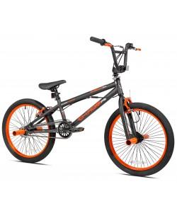 """Велосипед BMX 20"""" Kent Chaos Boys' Bike Matte черный (ad-07)"""