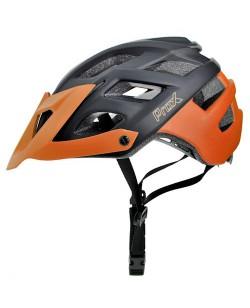 Шлем велосипедный ProX Thor черный с оранжевым (A-KO-0108)