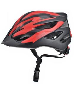 Шлем велосипедный ProX Thumb черный / красный (A-KO-0124)