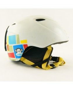 Горнолыжный шлем Giro Slingshot белый с обезьянками матовый (H-032) Б/У