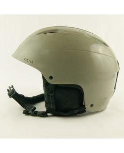 Горнолыжный шлем Giro серый матовый  (H-037)