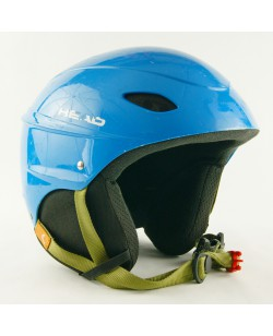 Горнолыжный шлем Head голубой глянец (H-007)