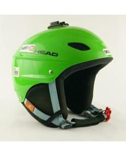 Горнолыжный шлем Head салатовый глянец (H-005)