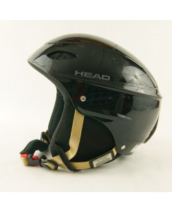 Горнолыжный шлем Head черный глянец (H-044)