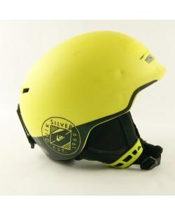 Горнолыжный шлем Quiksilver желто-черный матовый (H-046)