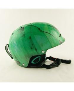 Горнолыжный шлем Quiksilver зеленый матовый (H-051)