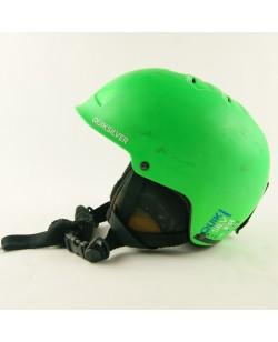 Горнолыжный шлем Quiksilver зеленый матовый (H-054)