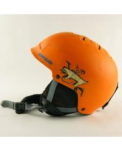 Горнолыжный шлем Quiksilver оранжевый матовый (H-017)