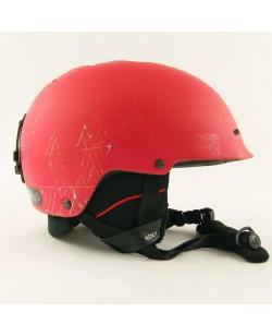 Горнолыжный шлем Roxy красный матовый (H-036)