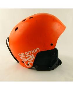 Горнолыжный шлем Salomon оранжевий матовый (H-047) Б/В