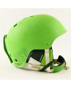 Горнолыжный шлем Salomon салатовый матовый (H-032-1) Б/У