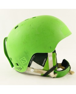 Горнолыжный шлем Salomon салатовый матовый (H-032) Б/У