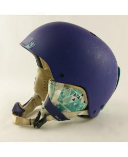 Горнолыжный шлем Salomon фиолетовый матовый (H-061) Б/У