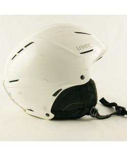 Горнолыжный шлем Uvex белый глянец (H-075)