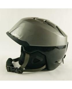 Горнолыжный шлем Wedze серо-черный глянец (H-014) Б/У