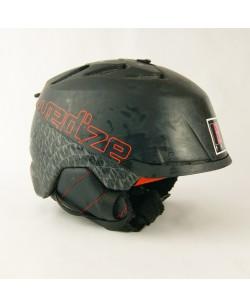 Горнолыжный шлем Wedze черно-серый матовый (H-003)
