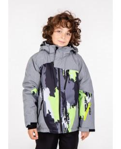 Куртка лыжная детская Just Play Zipp серый (B3338-grey)