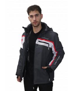 Куртка лыжная мужская Just Play графитовый (B1339-grey)