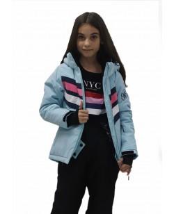 Куртка лыжная детская Just Play Mavic голубой (B4336-lightblue)