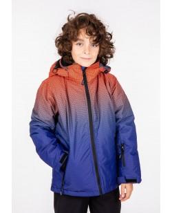 Куртка лыжная детская Just Play Rain синий / оранжевый (B3348-orange)