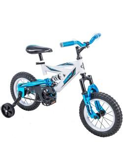 "Велосипед детский Huffy DS 1200 12"" белый / синий (ad-123)"