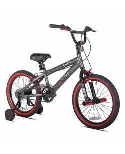"""Велосипед детский Kent Abyss FS18 BMX 18"""" темный серый (ad-114)"""