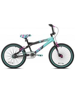 """Велосипед детский Kent Tempest 20"""" черный / бирюзовый (ad-112)"""