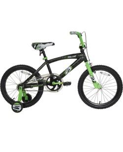 """Велосипед детский Next Surge 18"""" черный с зеленым (ad-125)"""