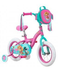 "Велосипед детский Paw Patrol Bike 12"" розовый (ad-124)"