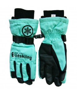 Перчатки женские Echt горнолыжные, бирюзовый (HX006-green)