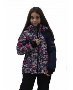 Куртка лыжная детская Just Play Letter синий (B6005-blue)