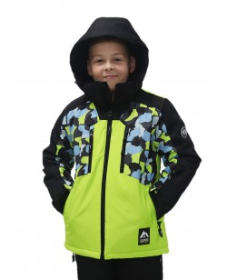 Куртка лыжная детская Just Play Moro зеленый (B3360-green)