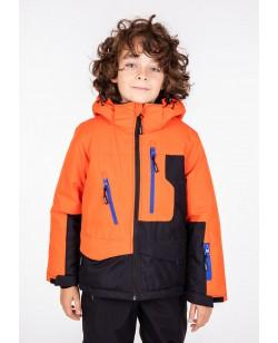 Куртка лыжная детская Just Play Zipper оранжевый (B3346-orange)