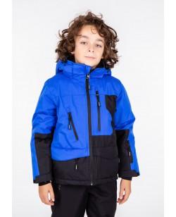 Куртка лыжная детская Just Play Zipper синий / черный (B3346-blue)