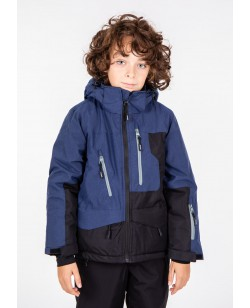 Куртка лыжная детская Just Play Zipper темный голубой / чёрный (B3346-dblue)