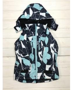 Куртка лыжная детская Just Play голубой / черный (B6008-blue)