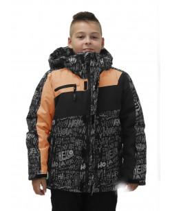 Куртка лыжная детская Just Play оранжевый / серый (B5011-yellow)