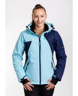 Куртка лыжная женская Just Play Snow голубой (B2377-blue)