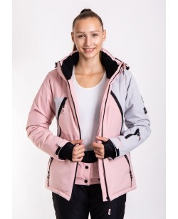 Куртка лыжная женская Just Play Snow розовый (B2377-pink)