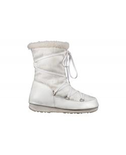 Зимние сапоги, мунбуты Tecnica Moon Boot Jacquard Mid белый (st-106)