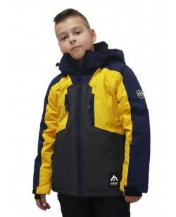 Куртка лыжная детская Just Play Hallo желтый (B3358-yellow)