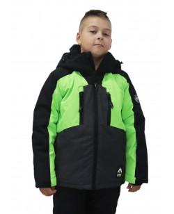 Куртка лыжная детская Just Play Hallo зеленый (B3358-green)